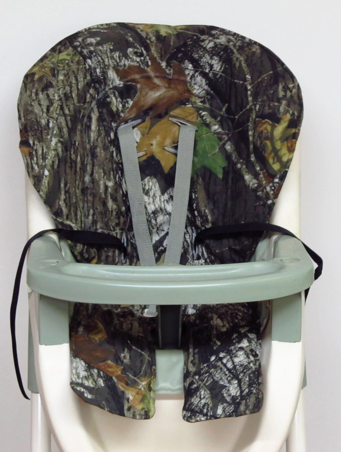high chair pad graco wicker outdoor chairs melbourne cover replacement mossy oak camo