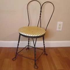 Ice Cream Parlor Chairs Green Velvet Chair Antique Childs 39