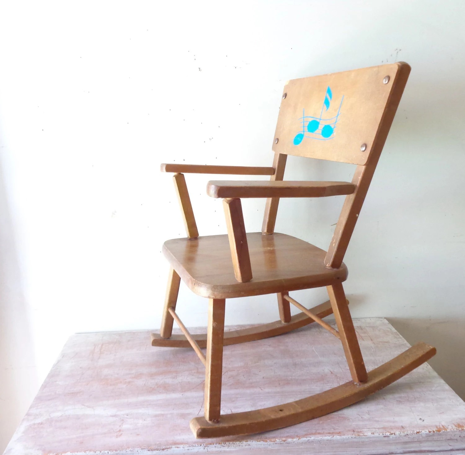 Kids Wooden Rocking Chair On Hold For Sheree Vintage Childrens Wooden Rocking Chair