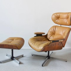 Selig Plycraft Lounge Chair Parts Office Edmonton Mid Century Modern Eames Style And Ottoman By