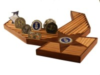 40 Air Force Emblem Challenge Coin Holder