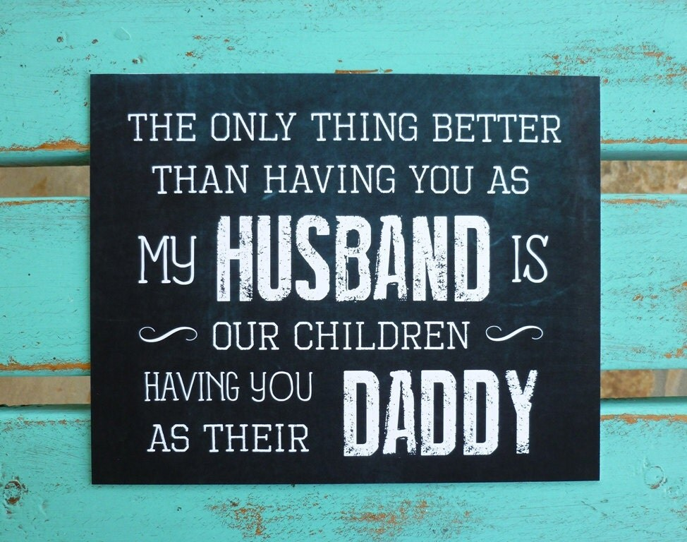 Fathers Day Gifts For Husband Daddy Father Of My