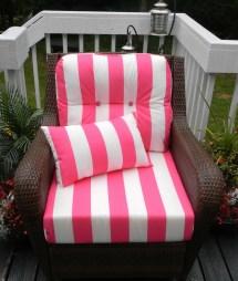 Indoor Outdoor Deep Seating Chair Cushion Set Seat &