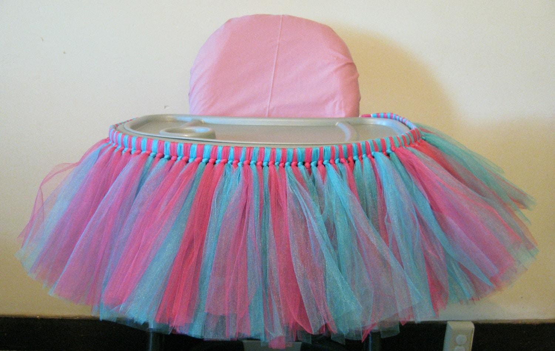 high chair tutu revolving price in sri lanka highchair skirt 1st birthday by