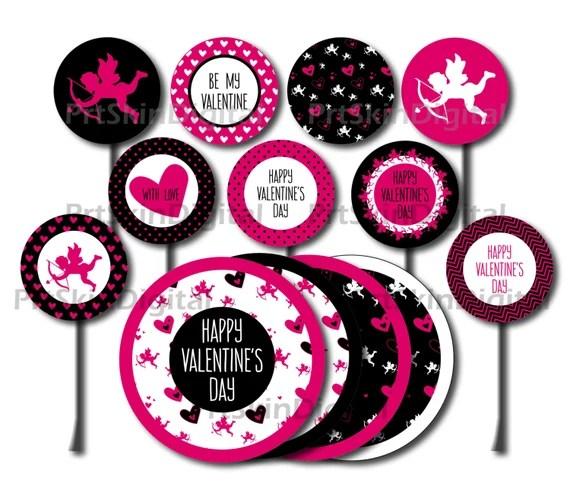 Ein weiteres Bild von valentines day cake topper Valentines Day Cake Topper