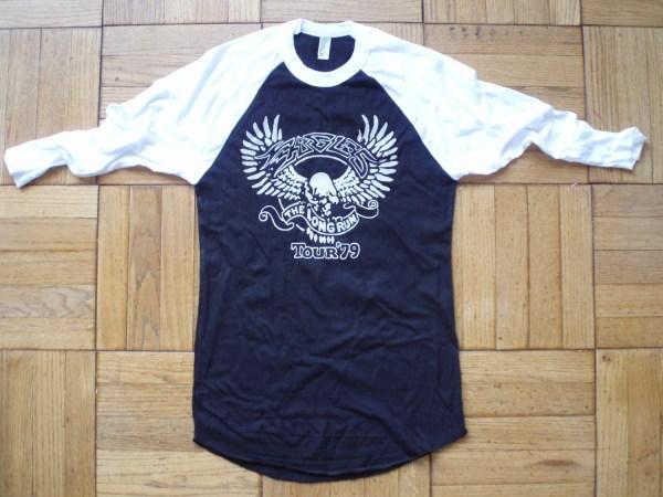 Eagles T-shirt Vintage Style Concert Tour Band Long