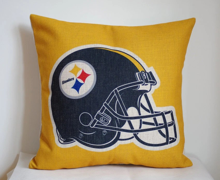 NFL Pittsburgh Steelers pillow Pittsburgh by DecorPillowStore