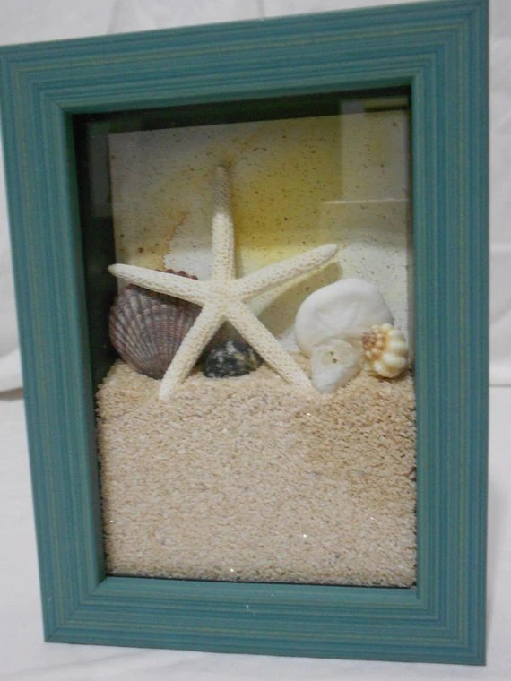 Set Of 2 Beach Shadow Boxes