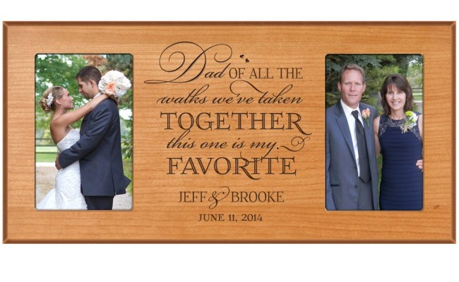 Personalized Wedding Gift For Dad Dad By Dayspringmilestones