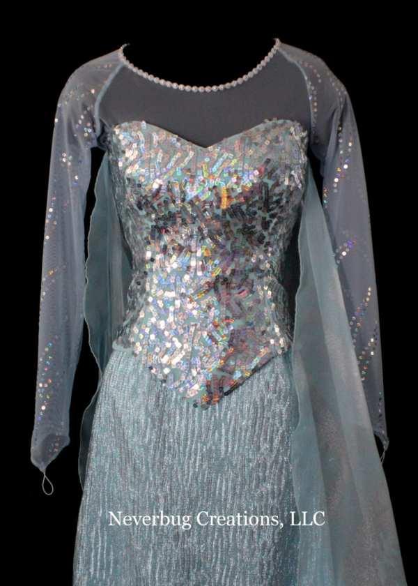Elsa Snow Queen Costume Adult