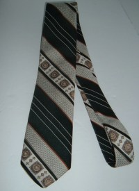 Retro neckties Vintage mens necktie vintage ties green