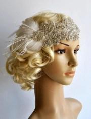 flapper rhinestone gatsby headband