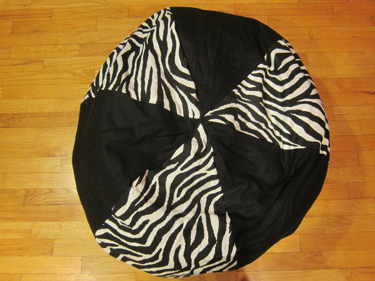 Bean Bag Chair Cover Zebra Bean Bag Chair Cover Black And White By Copperbugcompany