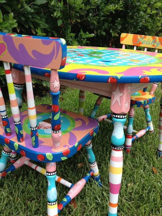 where to buy toddler table and chairs chair swing indoor little girl for by elliesshop