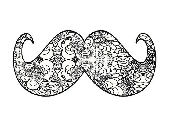 mustache art painting moustache art abstractartkunzelman