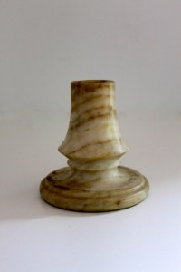 Vintage candle holder alabaster
