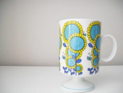 Retro / Vintage Japanese Ceramic Cup