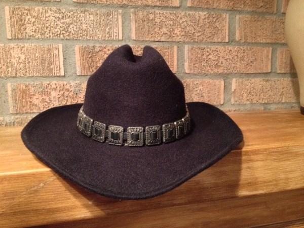 Vintage Black Western Pigalle Cowboy Hat With Urbanfantasia