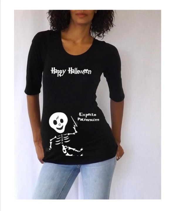 Maternity Halloween Shirt Happy Djammarmaternity