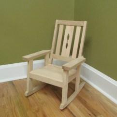 Unfinished Oak Chairs Used Herman Miller Aeron Chair Child 39skids Hardwood Rocking