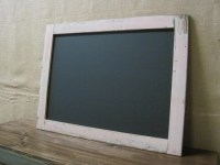 Large Framed Chalkboard / Chalk board / Message by ...