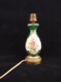 Antique Limoges Lamp Hand Made Hand Painted by LaCassoulere
