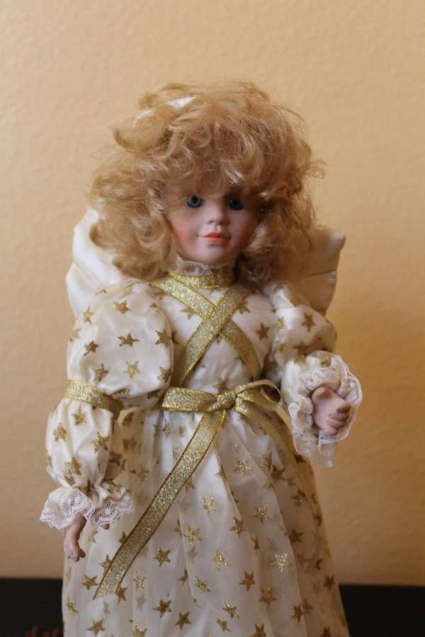 Rare Beautilul Collectible Angel Christmas Doll