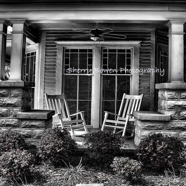 Southern Front Porch 2 Americana Fine Art