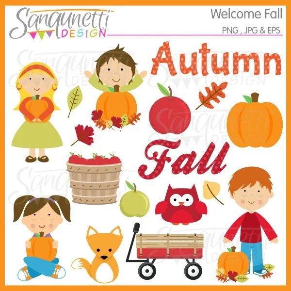fall autumn clipart commercial