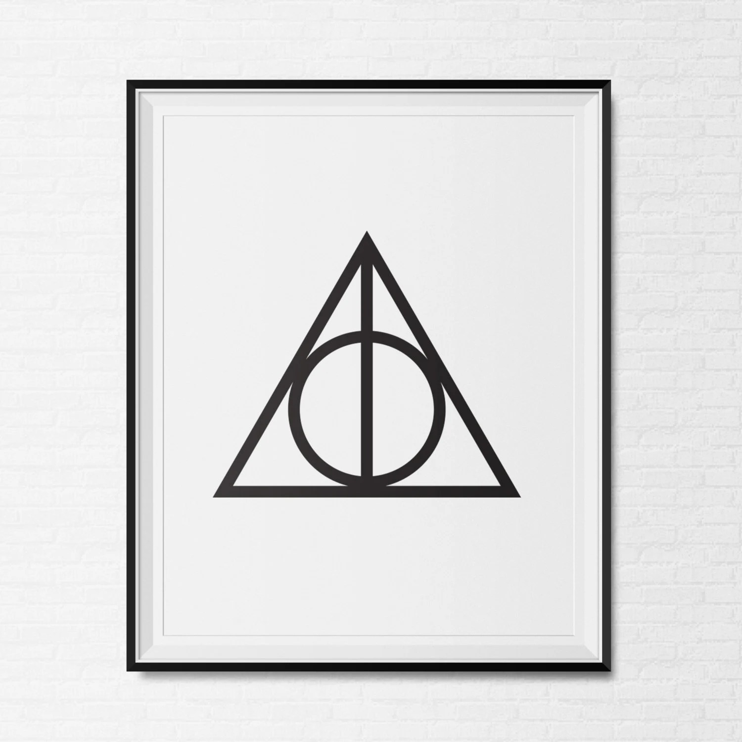 Printable Instant Downloadly Hallows Harry By Citycomfortsdc