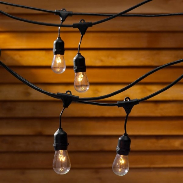 Christmas Lights Vintage outdoor string lights for wedding