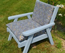 Refurbished Redwood Outdoor Chair Haute Juice