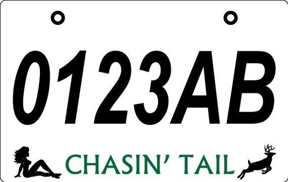 Economy Custom ATV License Plate FREE SHIPPING