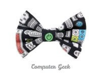 Popular items for geek bow tie on Etsy