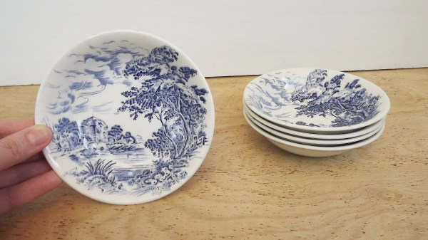 Vintage Wedgewood China Collection Set Countryside Pattern
