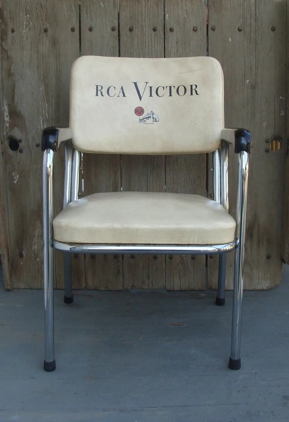 chair stool difference swing mitre 10 vintage rca victor chrome music