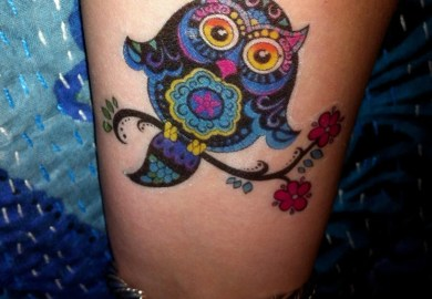 Owl Designs Tattoos