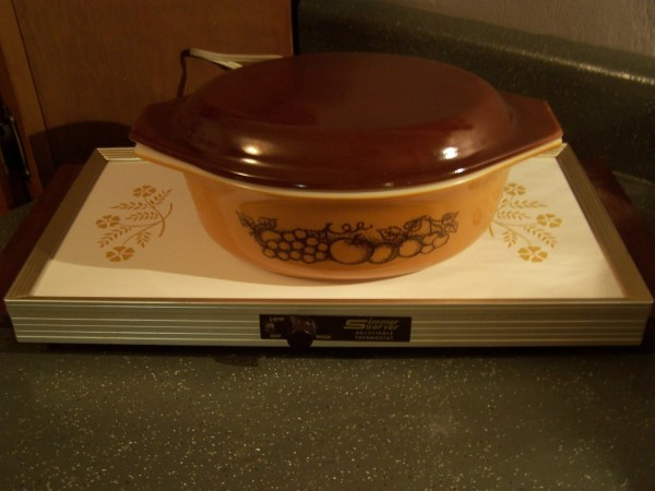 Vintage Electric Warming Tray Food Warmer