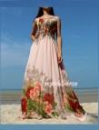 Pink Sundress Wedding Dress