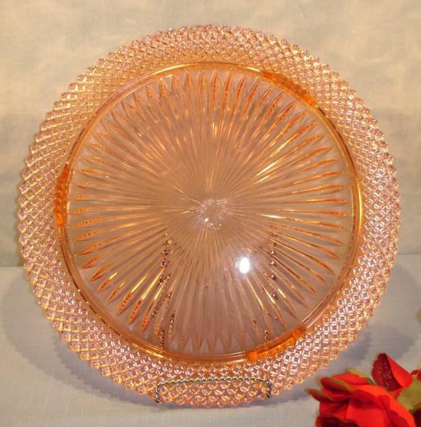 Miss America Pink Depression Glass Plates