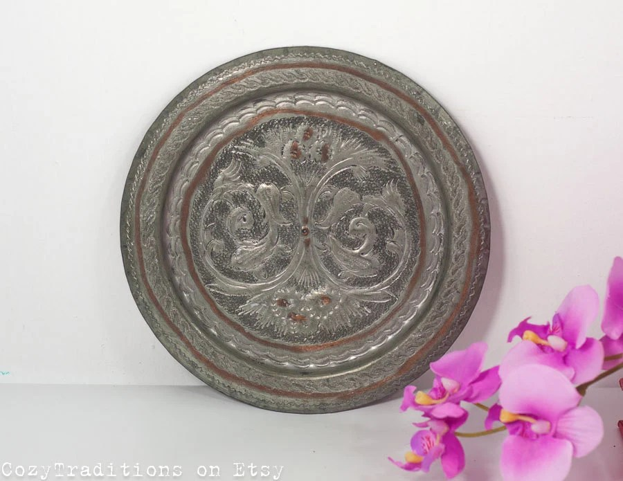 Decorative Wall Plate: Wall Hanging By CozyTraditions On Etsy