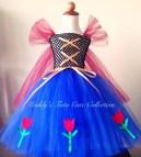 Princess Anna Frozen Tutu Dress