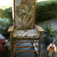 Cracker Barrel Rocking Chair Reviews Covers Hire Ipswich Indoor Outdoor 2 Pc Foam Cushion Set Fits
