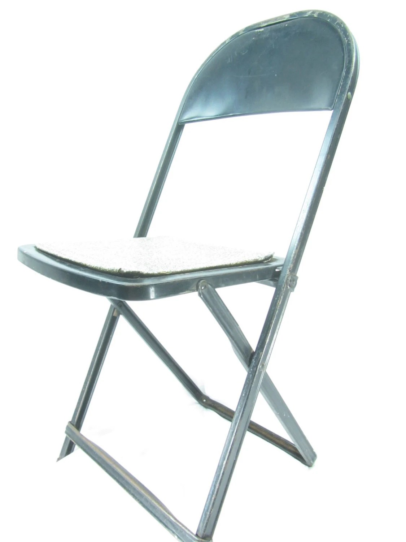 black metal folding garden chairs dorm chair slipcover pattern vintage retro