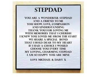 Step dad fathers day letters
