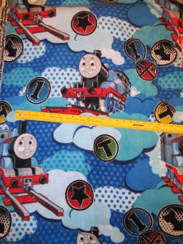 Thomas Train Fleece Fabric Vhtf Bty