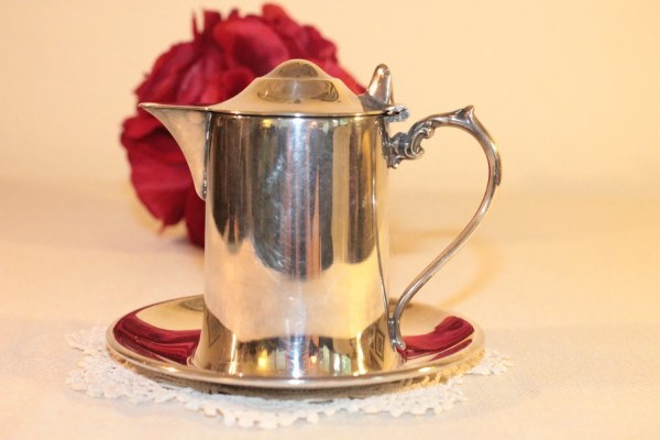 Wallace Silverplate Small Syrup Pitcher With Ohthatsafind