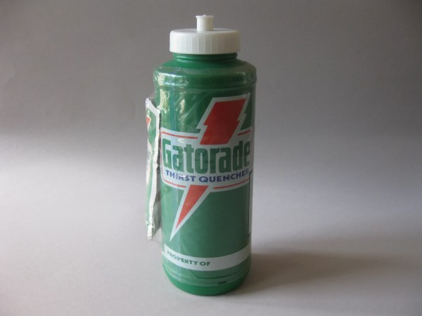 Gatorade Water Bottle Vintage Vtg Sealed Rare Sports