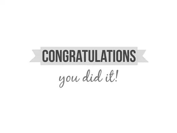 PDF DIY Greeting card congratulations Printable by Cloudreams