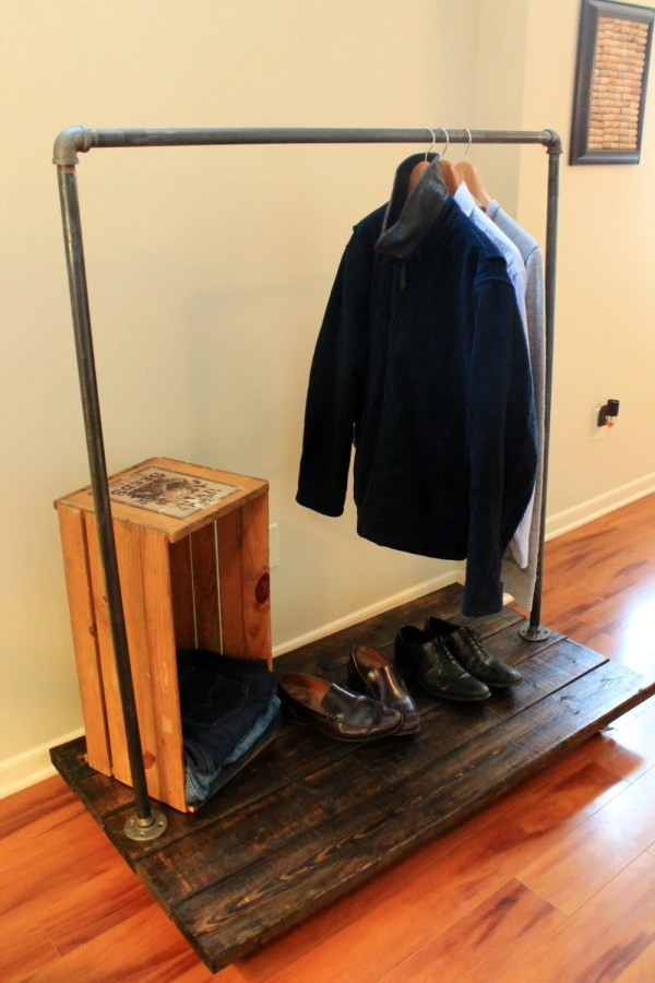 Industrial Clothing Racks with Wheels